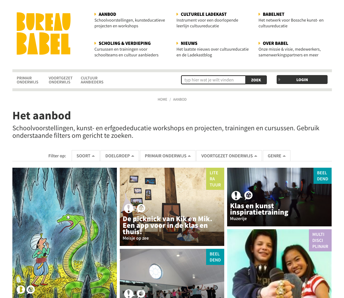 Website Bureau Babel