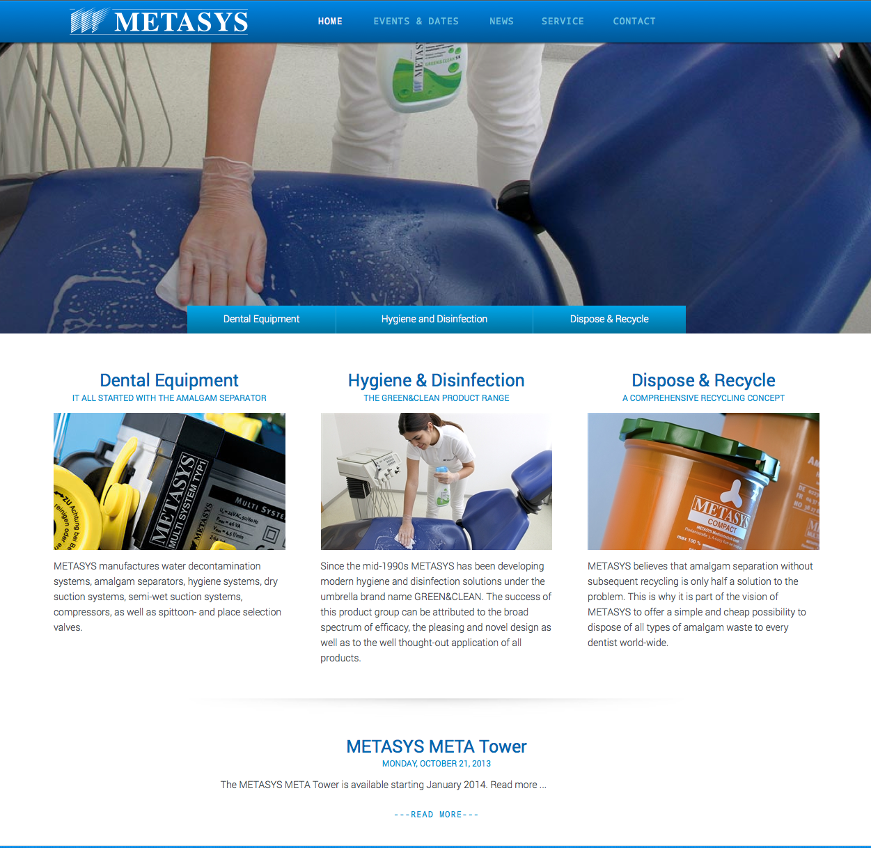 METASYS website