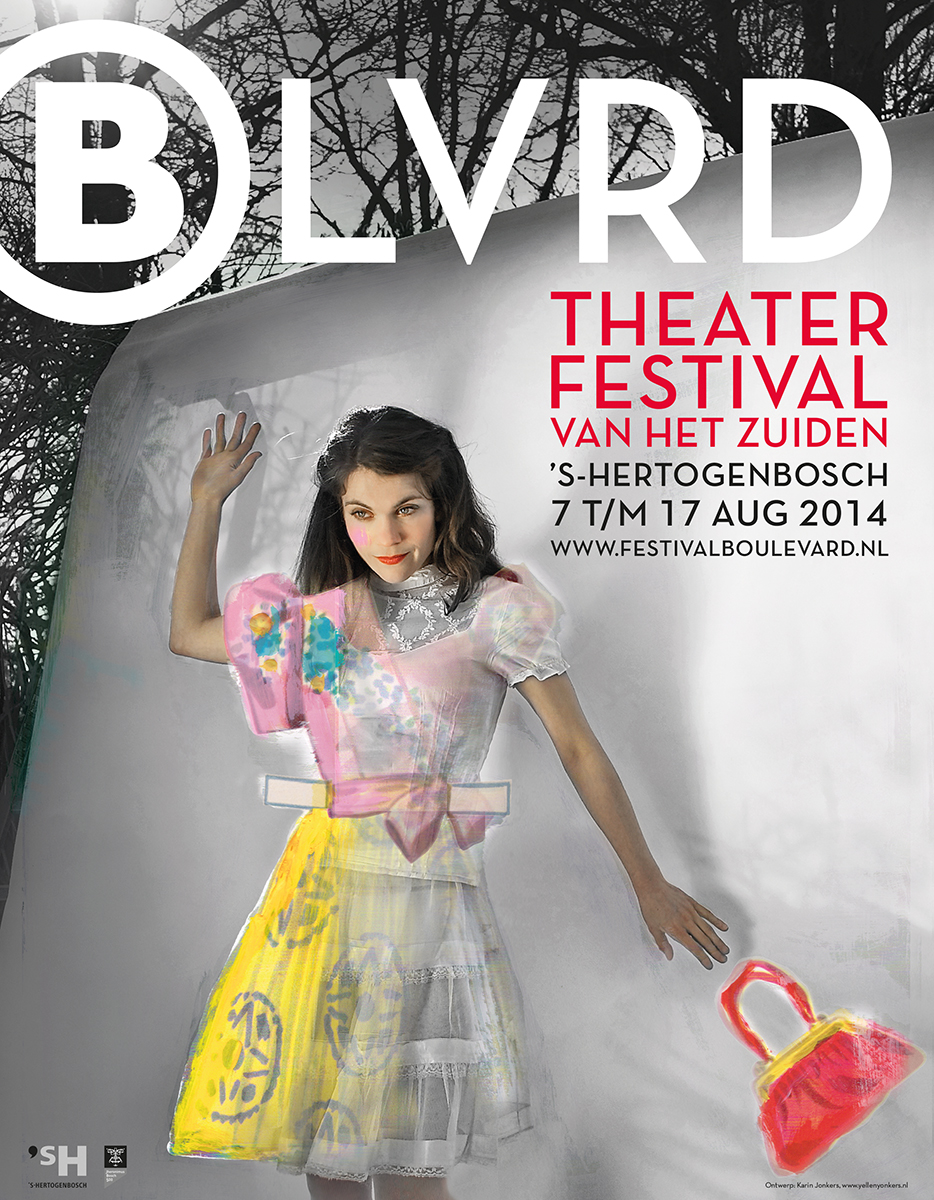 Theaterfestival Boulevard Affiche 2014