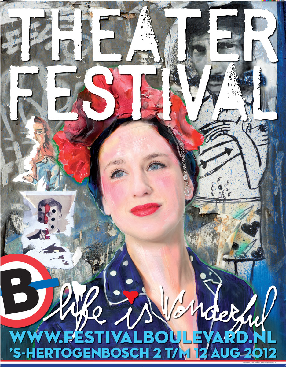 Theaterfestival Boulevard Affiche 2012