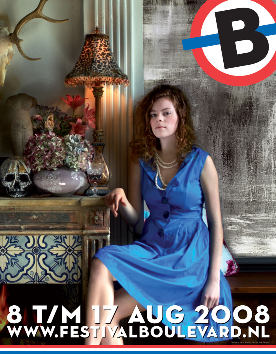 Theaterfestival Boulevard Affiche 2008