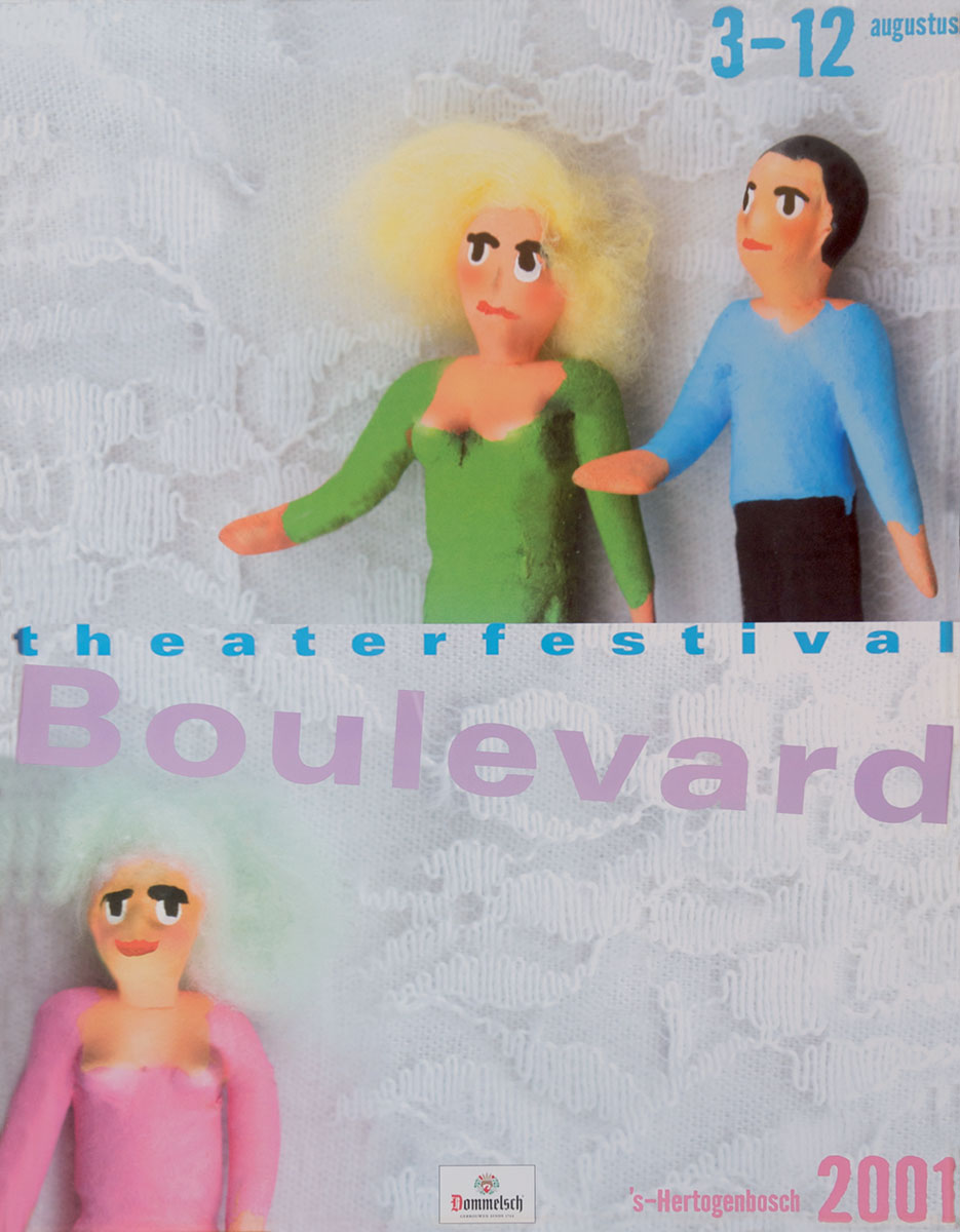 Theaterfestival Boulevard Affiche 2001
